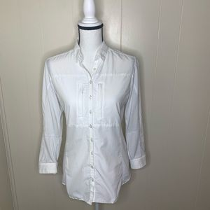 KUHL AIRSPEED LONG BUTTON DOWN SLEEVE SHIRT WHITE